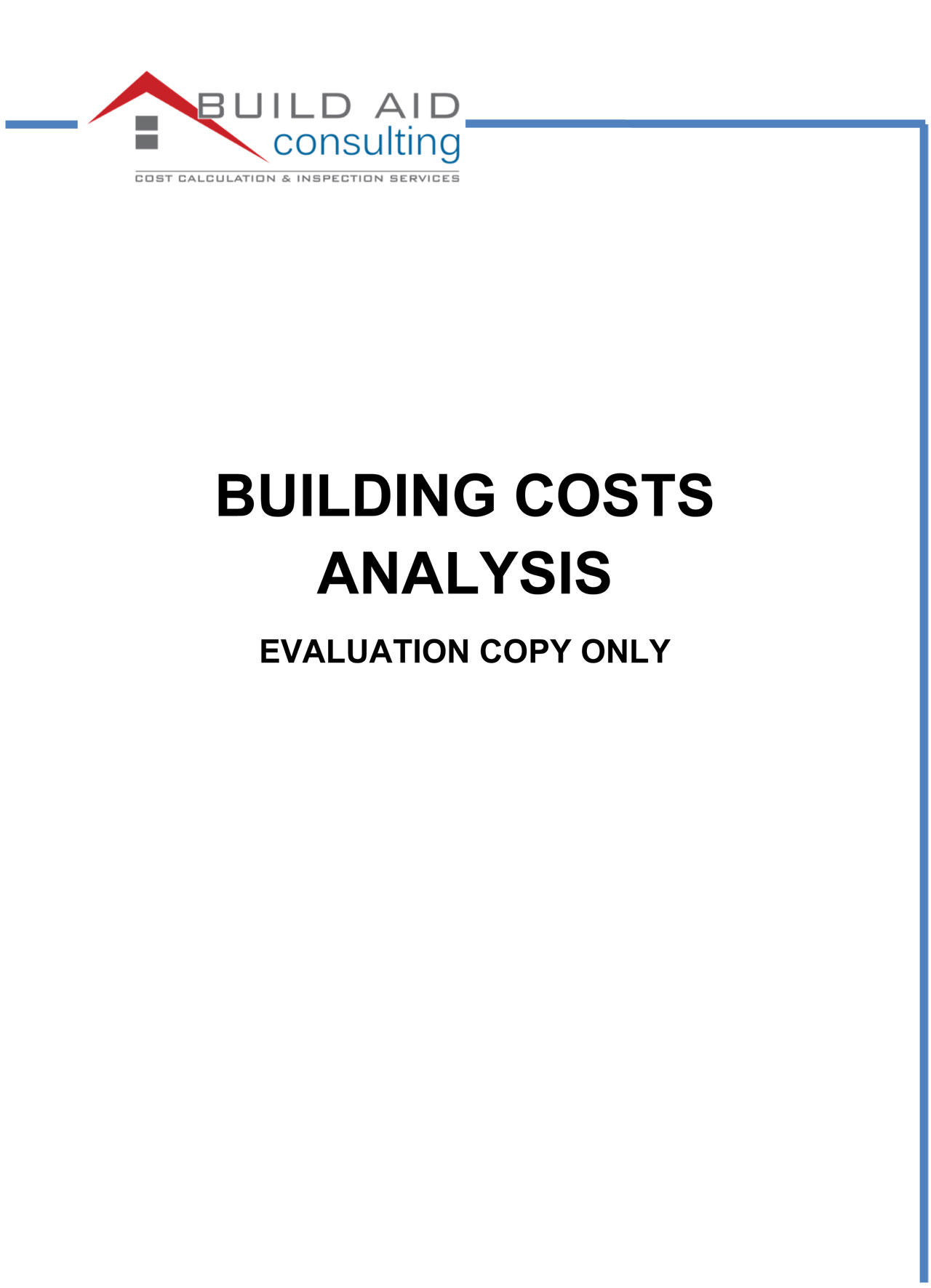 Example Report Build Aid Consulting – Consulting Report